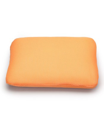 Orange Classic Memory Foam Mini Travel Pillow