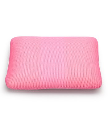 Pink Classic Memory Foam Mini Travel Pillow
