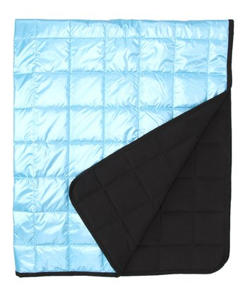 Light Blue Alpine-Light Softshell Throw