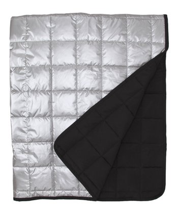 Silver Alpine-Light Softshell Throw