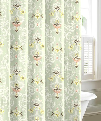 Aqua Sheffield Shower Curtain