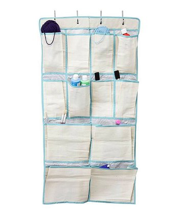 Birch & Maui Blue 12-Pocket Organizer