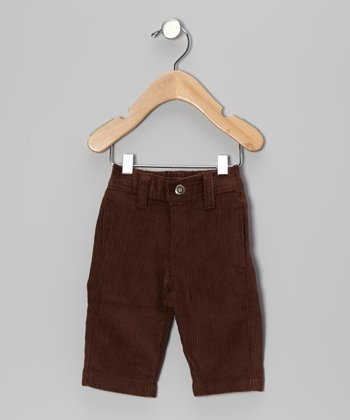 Brown Corduroy Pants - Infant, Toddler & Boys