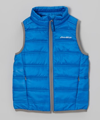 Pacific Blue Puffer Vest - Toddler & Kids