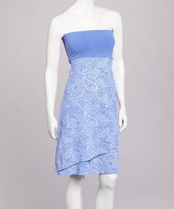 Periwinkle Augustine Convertible Dress