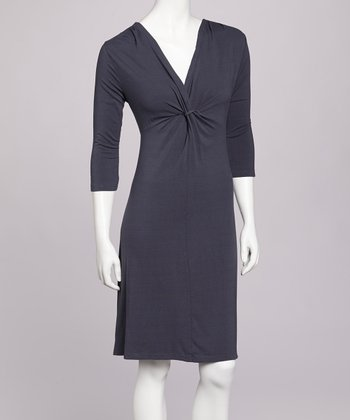 Twilight Twist Front Dress
