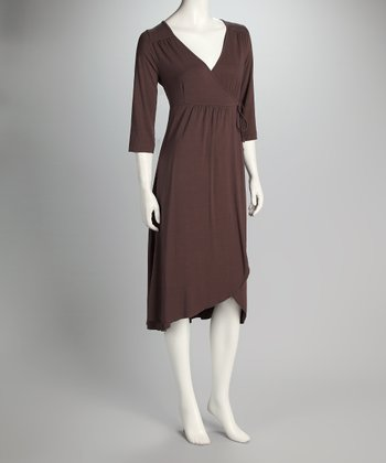 Truffle Wrap Me Up Wrap Dress