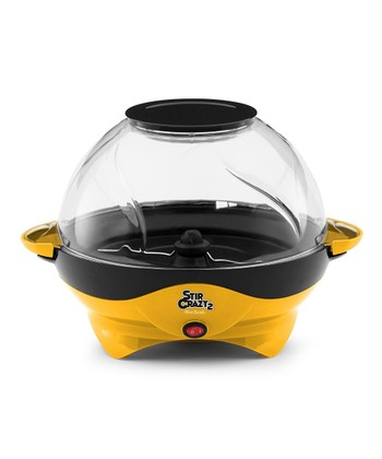 Yellow Stir Crazy Deluxe Popcorn Popper