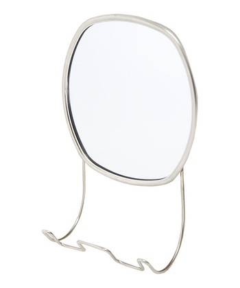 Satin Nickel Mirror
