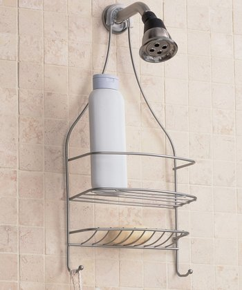 Satin Nickel Wire Shower Caddy