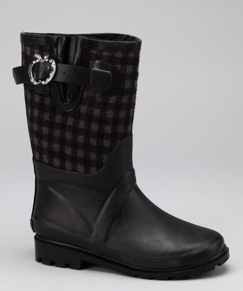 Black & Gray Sammy Boot