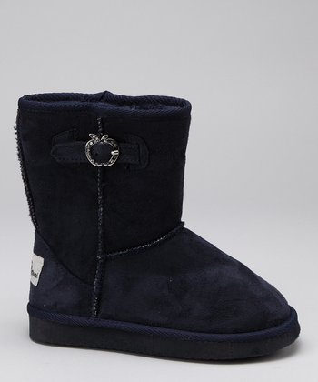Apple Bottoms Navy Veronica Boot