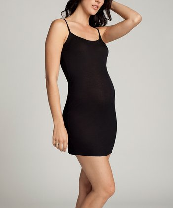 Black Maternity Chemise - Women