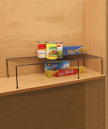 Expandable Cabinet Helper Shelf - Set of Two
