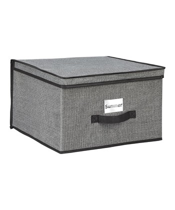 Gray Jumbo Storage Box