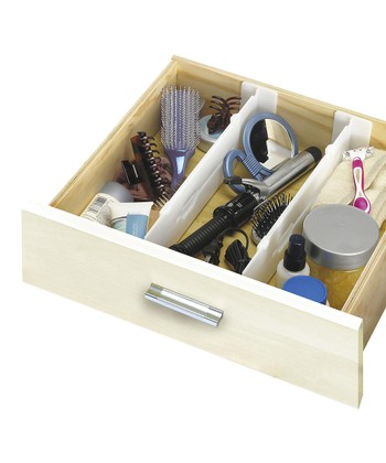 Adjustable Depth Drawer Divider - Set of Two