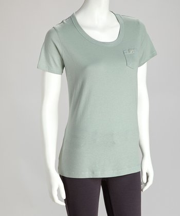 Green Spruce Pocket Tee