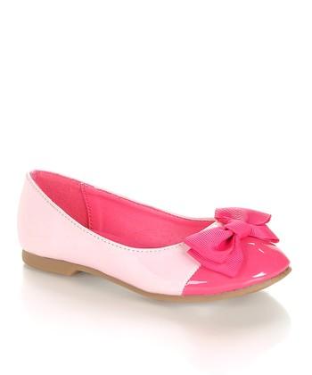 Pink Color Block Epub Flat