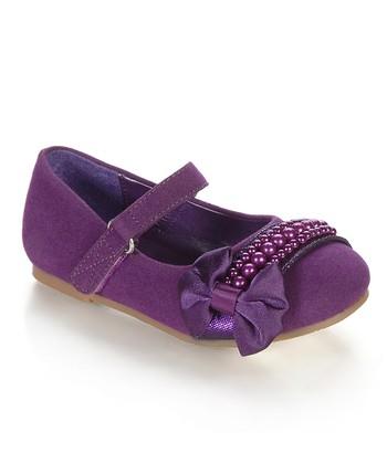 Purple Espola Mary Jane