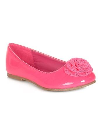 Pink Laco Flat