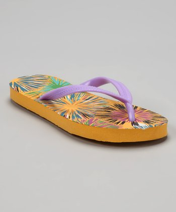 Purple Bursts Flip-Flop