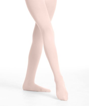 Pink Convertible Back-Seam Tights