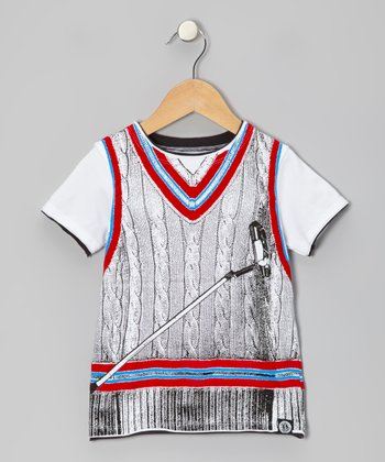 White For Birdie Tee - Toddler & Kids