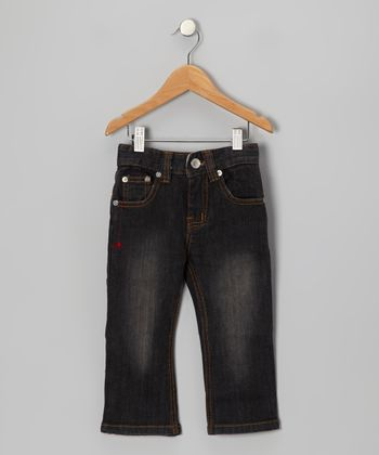 Black Webster Jeans - Infant, Toddler & Boys