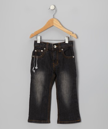 Black Reafer Jeans - Infant, Toddler & Boys