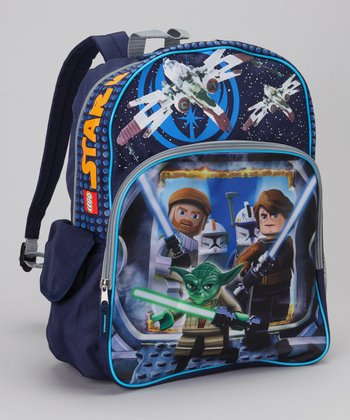 Navy LEGO Yoda Backpack