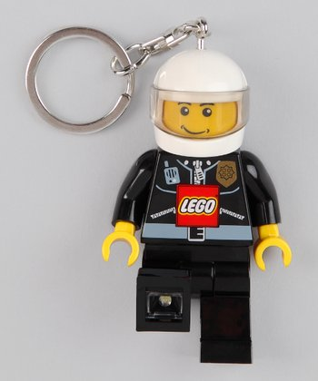Police Character LEGO LED Key Chain