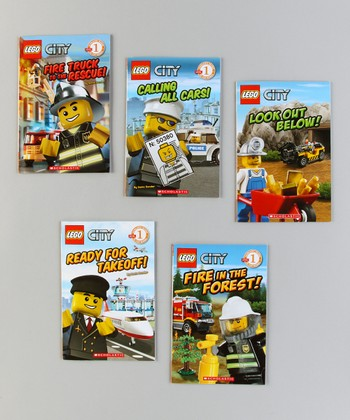 LEGO City Rescue Paperback Set