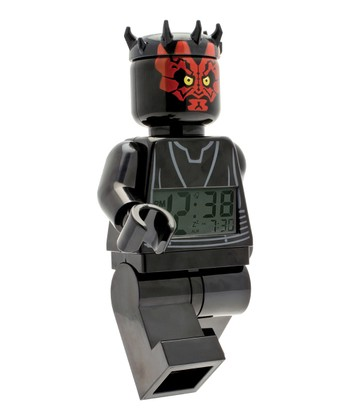 LEGO Star Wars Minifigure Darth Maul Clock