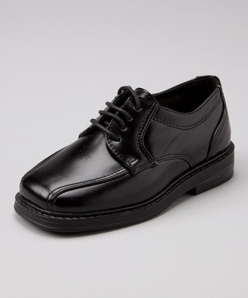 Black Jr. Charles Dress Shoe - Boys