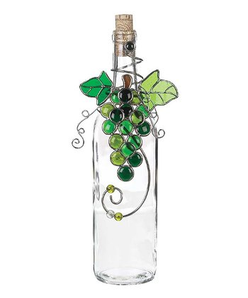 Green Grapes Bottle Décor
