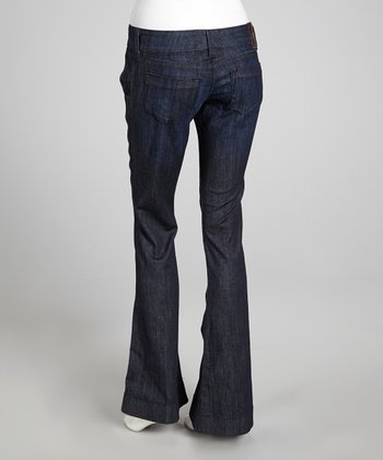 Everest Blue Denim Low-Rise Trouser Jeans
