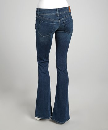 Rox Blue Low-Rise Lindsay Fit & Flare Jeans