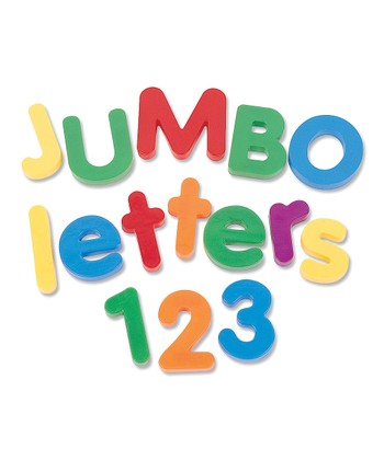 Jumbo Magnetic Number Set