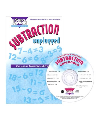 Subtraction Unplugged CD & Lyric Book