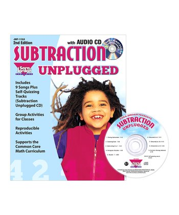 Subtraction Unplugged CD & Workbook Set