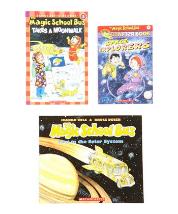 Magic School Bus Space Paperback Set