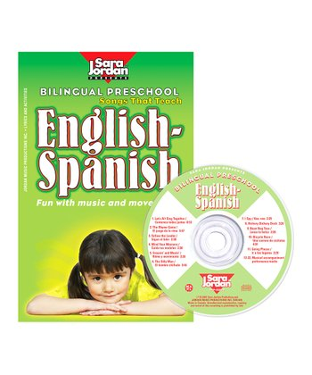 Bilingual Preschool: English to Spanish CD Set