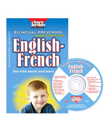 Bilingual Preschool: English to French CD Set
