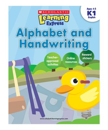 Scholastic Learning Express: Alphabet & Handwriting K1 Paperback