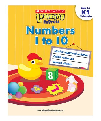 Scholastic Learning Express: Numbers 1 to 10 Paperback
