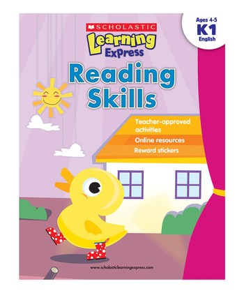Scholastic Learning Express: Reading Skills K1 Paperback