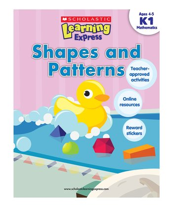 Scholastic Learning Express: Shapes & Patterns K1 Paperback
