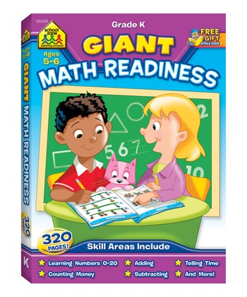 Giant Math Readiness Workbook