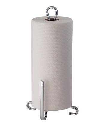 Chrome Axis Stand Paper Towel Holder
