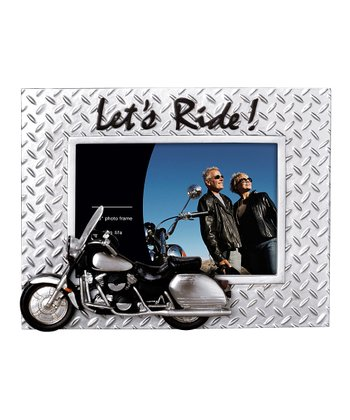 'Let's Ride' Motorcycle Frame
